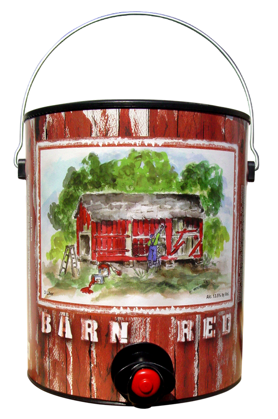 Barn Red 3 Liter Can Product Image